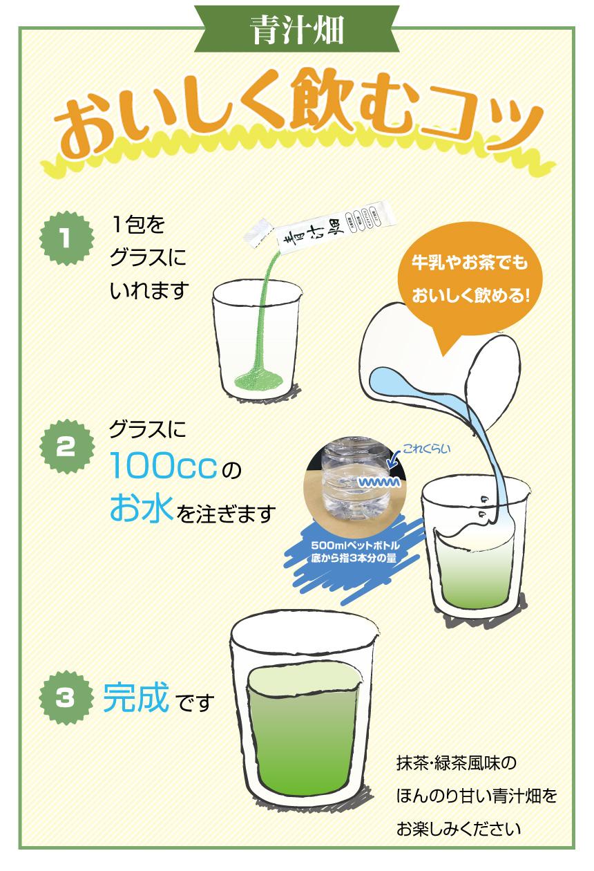 おいしい青汁
